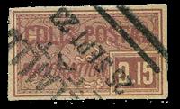 France - Colis postaux YT 18 - Oblitéré