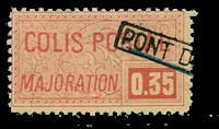 France - Colis postaux YT 20 - Oblitéré
