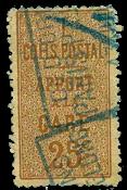 France - Colis postaux YT 7 - Oblitéré