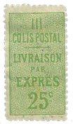 France - Colis postaux YT 8 - Neuf avec charnières