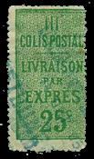 Frankrig - Pakkeporto YT 8 - Stemplet