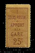 France - Colis postaux YT 3 - Neuf avec charnières