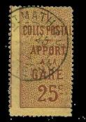 France - Colis postaux YT 3 - Oblitéré