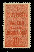 France - Colis postaux - YT 6a - Neuf sans charnières