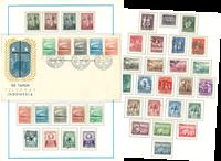 Indonesien - Samling 1940-2000