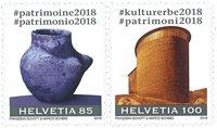 Suisse - Héritage culturel - Série neuve 2v