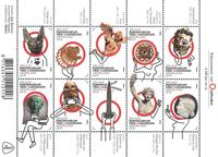 Netherlands - Royal Museum of Antiquities - Mint souvenir sheet