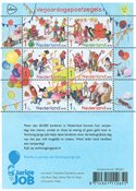Netherlands - Birthday - Mint souvenir sheet