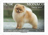 Monaco - Hundeudstilling 2018 - Postfrisk frimærke
