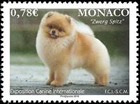 Monaco - Exposition de chiens 2018 - Timbre neuf
