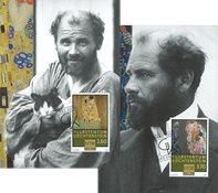 Liechtenstein - Gustav Klimt - Cartes Maximum