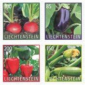 Liechtenstein - Légumes - Série neuve 4v
