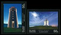 Island - Fyrtårne 2015 - Postfrisk sæt 2v