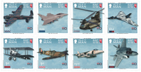 Eiland Man - Royal Air Force - Postfrisse serie van 8
