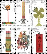 Hong Kong - Feestelijke Gebruiken - Postfrisse serie van 6