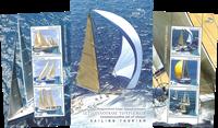 Grækenland - Sejlerturisme - Fin folder med 2 postfriske miniark