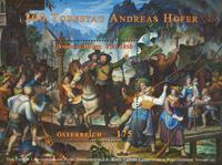 Østrig - Andreas Hofer - Postfrisk miniark