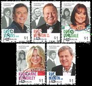 Australien - TV legender - Stemplet sæt 5v