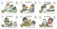 诺菲集邮,奥尔德尼新邮,wolmbles 五十周年纪念邮票 - 新票套票6枚