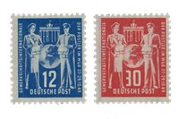 DDR 1949 - Michel 243-244 / AFA 78-79 - Postfrisk