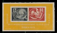Duitsland DDR 1950 - Michel Blok 7 - Postfris