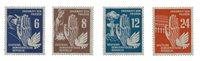 République Démocratique Allemande 1950 - Michel 276-279 - Neuf