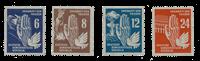 Duitsland DDR 1950 - Michel 276-279 - Postfris