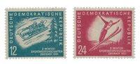 République Démocratique Allemande 1951 - Michel 280-281 - Neuf