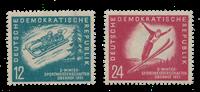 Duitsland DDR 1951 - Michel 280-281 - Postfris