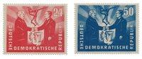 German Democratic Republic 1951 - MICHEL 284-285 -  Mint