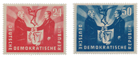 République Démocratique Allemande 1951 - Michel 284-285 - Neuf