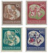 République Démocratique Allemande 1951 - Michel 289-292 - Neuf