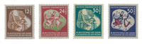 Duitsland DDR 1951 - Michel 289-292 - Postfris