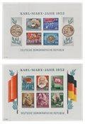 République Démocratique Allemande 1953 - Michel bloc8A-9A - Neuf