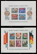 République Démocratique Allemande 1953 - Michel Block8A-9A - Neuf