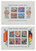 République Démocratique Allemande 1953 - Michel Block8B-9B - Neuf