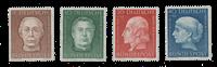 Republique Fédéraled'Allemagne 1954 - Michel 200-203 - Neuf