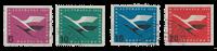 Republique Fédéraled'Allemagne 1955 - Michel 205-208 - Oblitéré