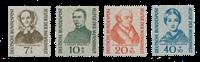 Republique Fédéraled'Allemagne 1955 - Michel 222-225 - Neuf