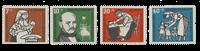 Republique Fédéraled'Allemagne 1956 - Michel 243-246 - Neuf