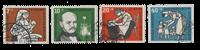 Republique Fédéraled'Allemagne 1956 - Michel 243-246 - Oblitéré
