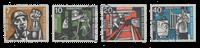 Republique Fédéraled'Allemagne 1957 - Michel 270-273 - Oblitéré