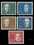 Republique Fédéraled'Allemagne 1959 - Michel 315-319 - Neuf