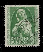 Republique Fédéraled'Allemagne 1952 - Michel 151 -  Oblitéré
