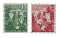 Tyskland 1952 - Michel 153-154 / AFA 1117-1118 - Postfrisk