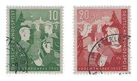 Tyskland 1952 - Michel 153-154 / AFA 1117-1118 - Stemplet