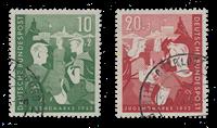 Tyskland 1952 - Michel 153-154 - Stemplet