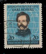 Republique Fédéraled'Allemagne 1952 - Michel 155 -  Oblitéré