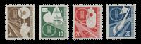 Republique Fédéraled'Allemagne 1953 - Michel 167-170 - Neuf