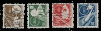 Republique Fédéraled'Allemagne 1953 - Michel 167-170 - Oblitéré